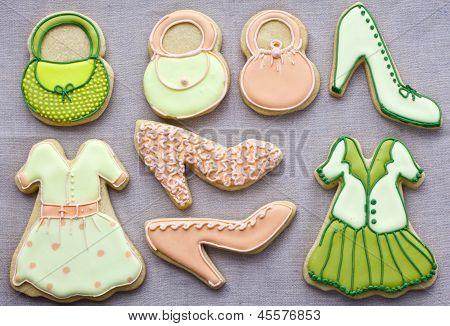 Fashion cookies.