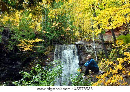 Alone At Hungarian Falls