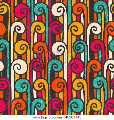 Seamless colorful abstract background.