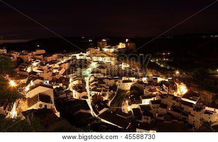Spanish Village At Night