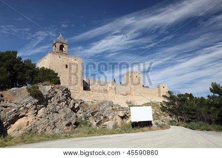 Moorish Fortress In Antequera, Spain