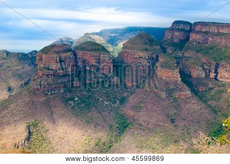 Drakensberg, Blyde River Canyon,south Africa, Mpumalanga, Summer  Landscape