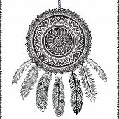 foto of dream-catcher  - Ethnic Dream catcher - JPG