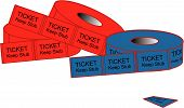 picture of raffle prize  - Tear tickets to get you into where you want to go - JPG