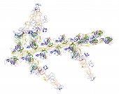 Постер, плакат: Молекулярные роторы: Myosins и актина вызывая сокращения мышц