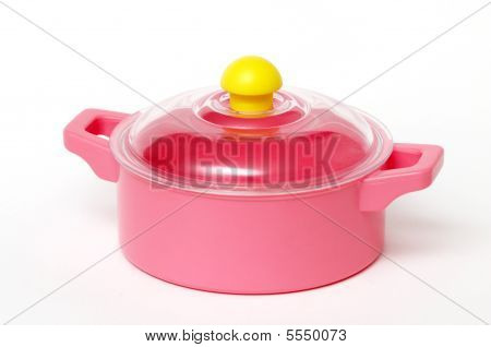 Pink Plastic Pan