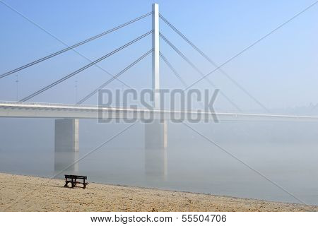 Bridge On Danube River