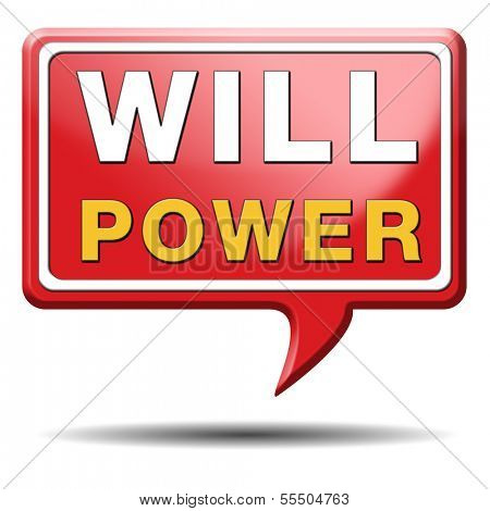 Will power self motivation bite the bullet and set your mind to it