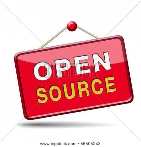 open source software program or economy freeware internet data computer sharing