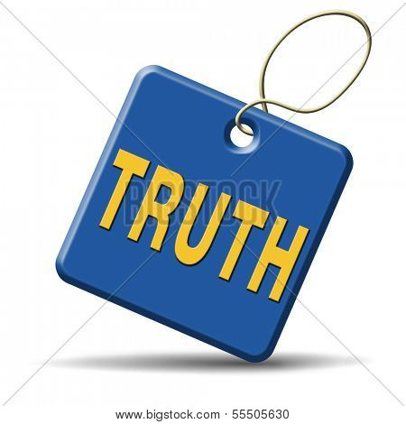 truth be honest honesty leads a long way find justice truth button icon search truth