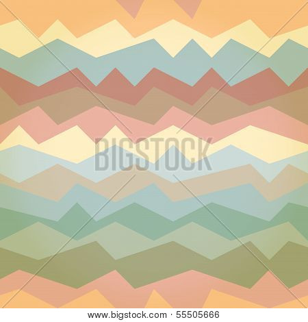 Seamless Geometric Pattern With Inclined Lines. Eps10