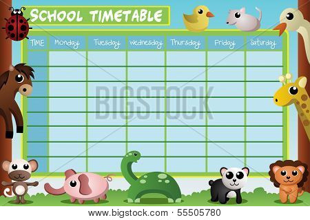 School Timetable Design