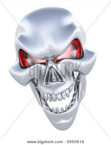 Evil Skull Face