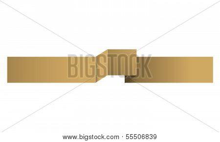 The mocha ribbon