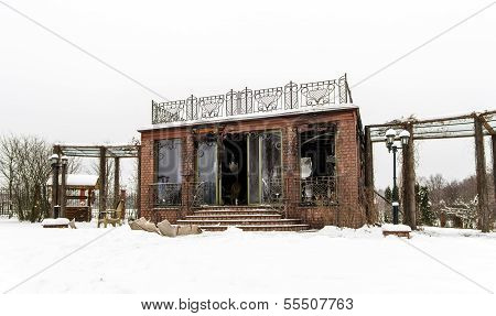 Fire Damaged Summer House
