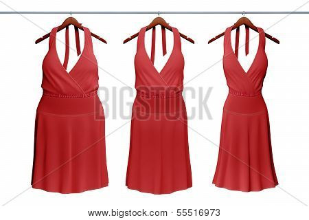 diet food concept with woman dress