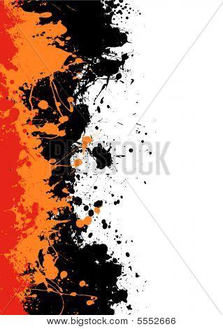 Ink Splat Border