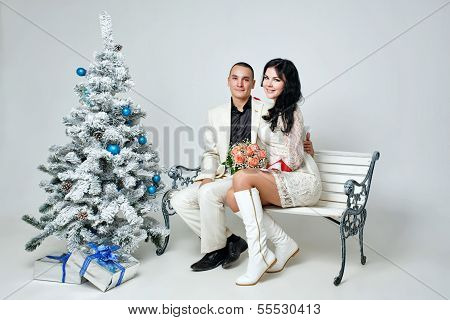 Couple And Christmas