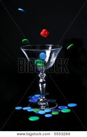 Cocktail Of Die And Counters