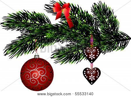 Christmas decorative symbols