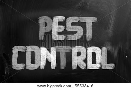 Pest Control Concept
