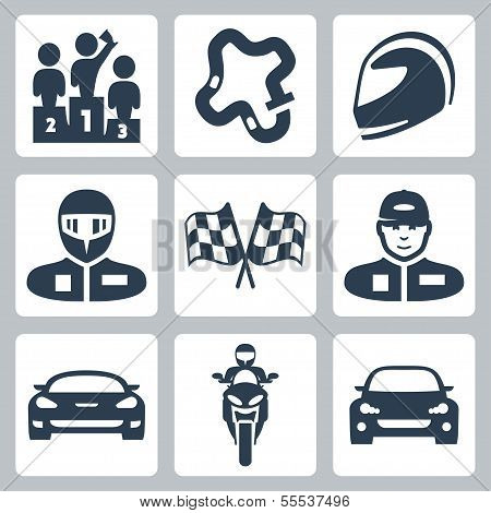 Vector Race Icons