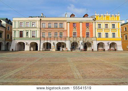 Town Hall, Main Square (rynek Wielki), Zamosc, Poland