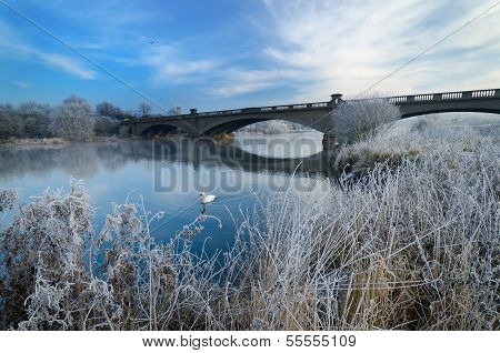 Gunthorpe Bridge On A Cold Morning