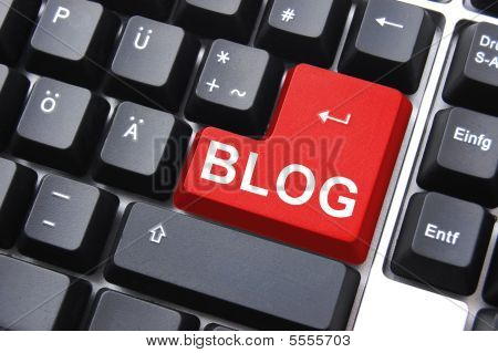 Blog knop