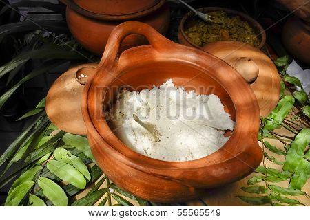 Crockpot of Steamed Rice