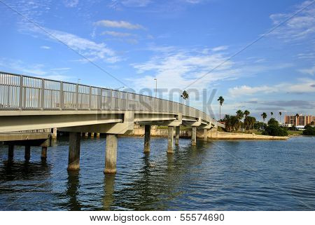 Brücke in Clearwater beach