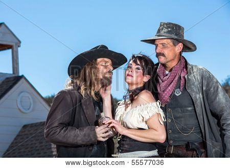 Western Character Trio