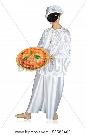 Pulcinella And Pizza