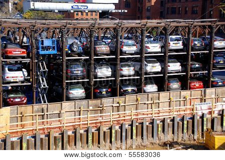 An automated car parking