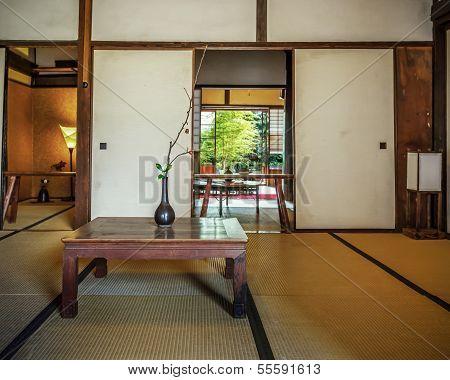 A room at Kofukuji Templr in nagasaki