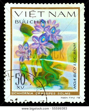 VIETNAM - CIRCA 1978: A stamp printed in VIETNAM, shows Eichhorn
