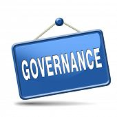 governance decision making good fair and consistent management of a corporate or global project cons