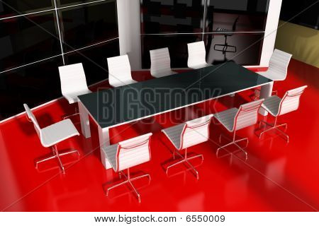 Modern  Interior Room For Meetings