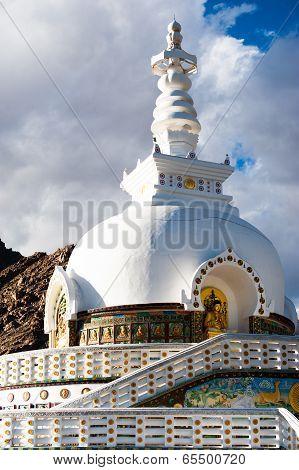 Modern Buddhist Monument Shanti Stupa