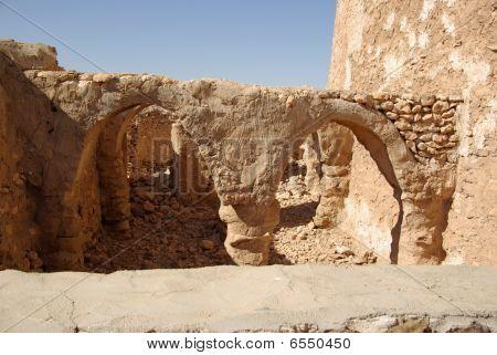 Berber ruins in Libya