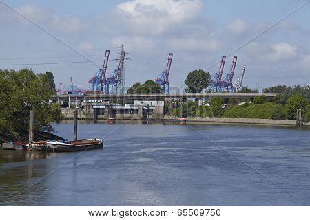 Hamburg - Ellerholz Lock