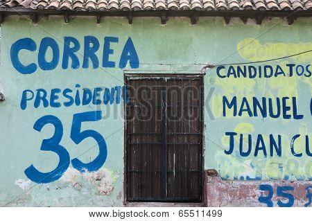 Canvassing In Ecuador