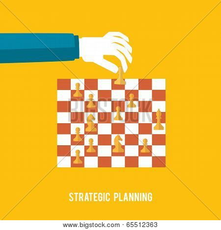 Strategy Planning Concept