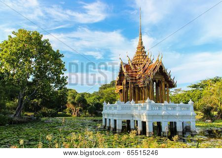Classical pavilion in Suanluang rama9  in Bangkok, Thailand.