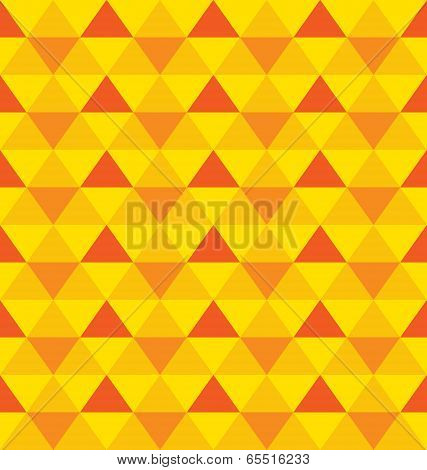 Vector Decorative Seamless Pattern with triangles