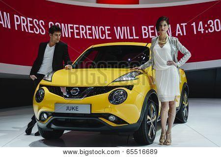 Nissan Juke At The Geneva Motor Show