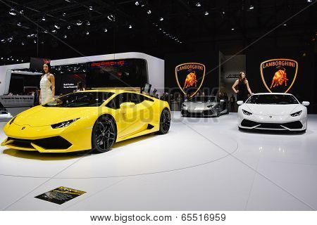 Lamborghini Huracan Unveiled At The Geneva Motor Show