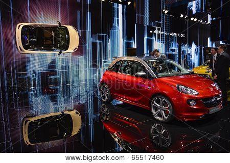 Opel Adam S At The Geneva Motor Show