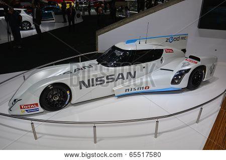 Nissan Zeod Rc Hybrid Racer At The Geneva Motor Show