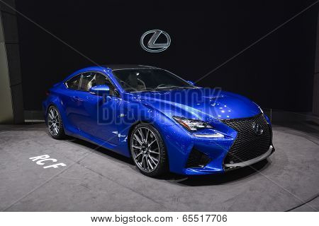 Lexus Rcf At The Geneva Motor Show